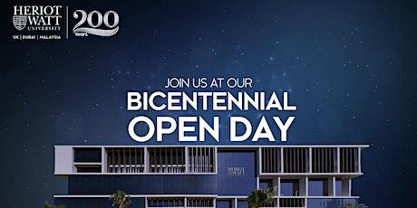 Heriot- Watt University Bicentennial Open Day 2021 tickets