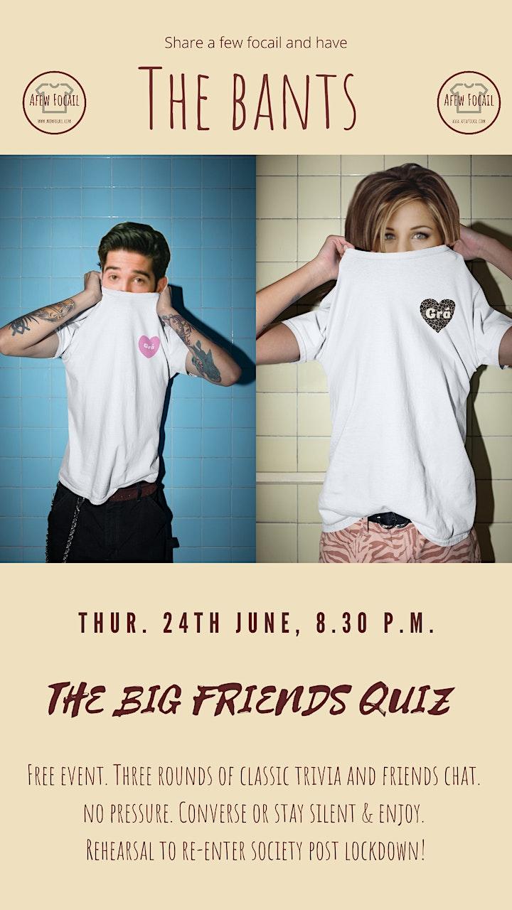The Bants - The Big FRIENDS Quiz image