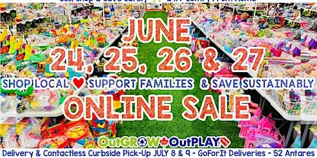 JUNE 24-27 Massive ONLINE Ottawa Children's Sale tickets