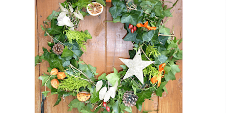 Christmas Wreath Making - Saturday PM session tickets