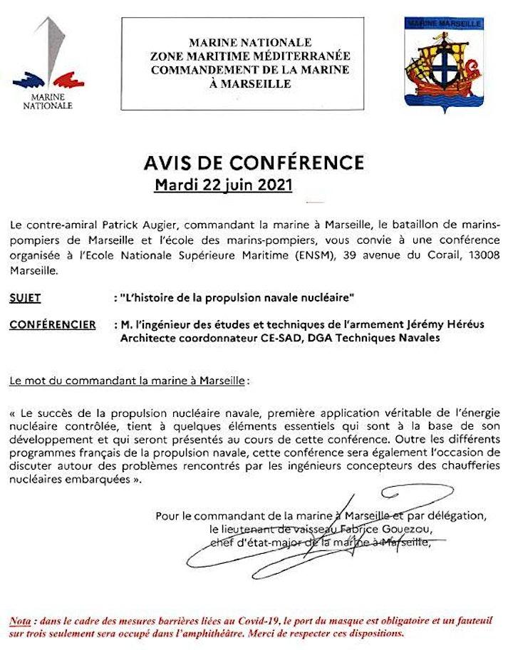 Image pour Conférence COMAR Marseille du 22 juin 2021