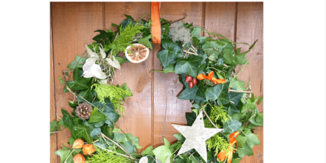 Christmas Wreath Making - Sunday AM session tickets