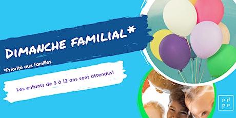 Célébration- Dimanche  familial billets