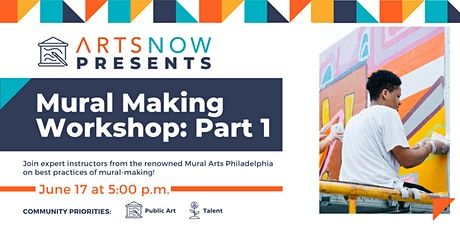Mural Making Workshop Part 1 with Mural Arts Philadelphia tickets