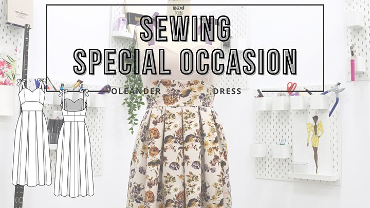 Virtual Sewing Class - Sewing Special Occasion (Oleander Dress) image