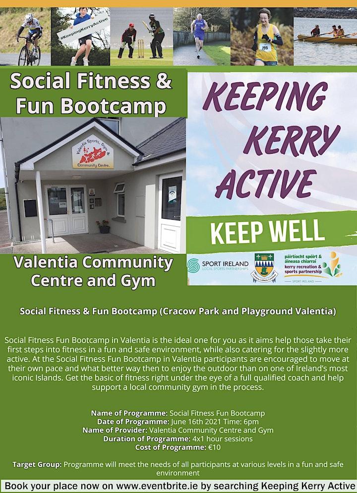 Keeping Kerry Active - Social Fitness Fun Bootcamp image
