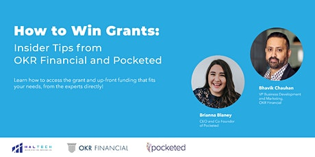 How to Win Grants: Insider Tips from OKR Financial and Pocketed tickets