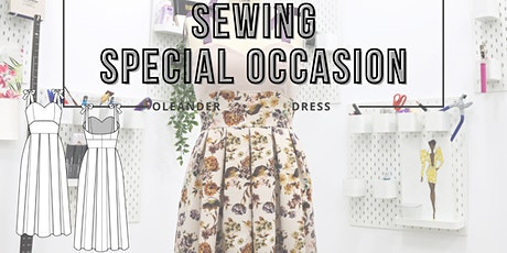 Virtual Sewing Class - Sewing Special Occasion (Oleander Dress) tickets