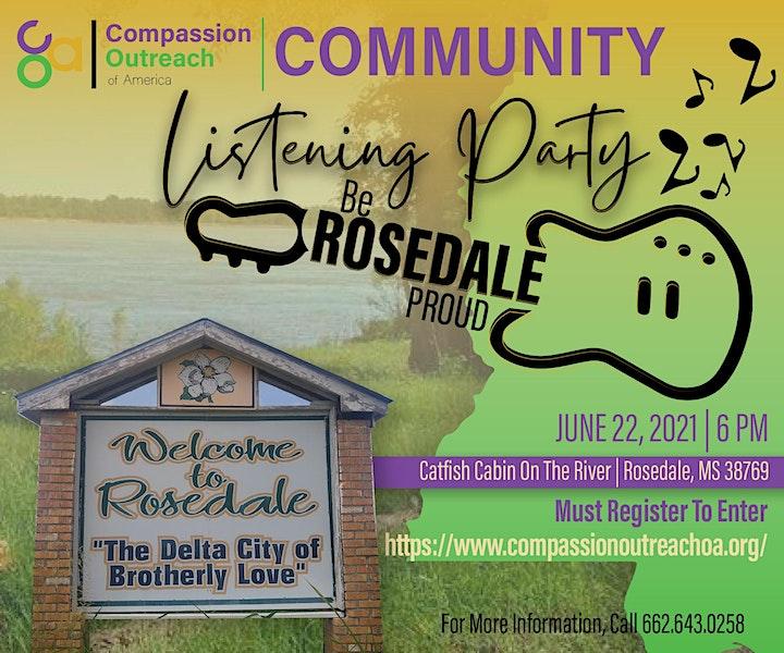 Community Listening Party image
