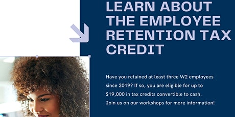 Employee Retention Tax Credit Workshops for Black Businesses tickets
