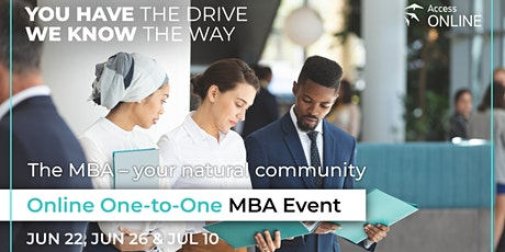Access Online Global MBA Event tickets
