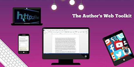 The Author's Web Toolkit - Websites & Social Media Strategies tickets