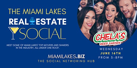 The Miami Lakes Real Estate Social tickets