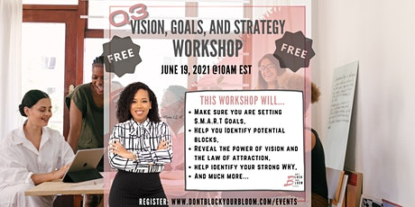 Vision, Goals, and Strategy Workshop tickets