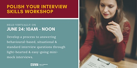 Polish Your Interview Skills Workshop tickets