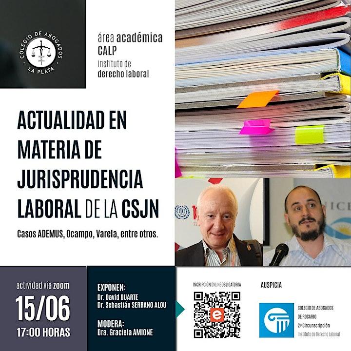 Imagen de Actualidad en materia de jurisprudencia laboral de  la CSJN