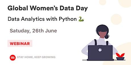Global Women's Data Day: Data Analytics with Python tickets