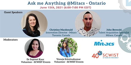 Ask Me Anything  @Mitacs (Ontario) tickets
