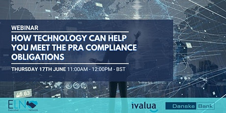 How technology can help you meet the PRA compliance obligations tickets