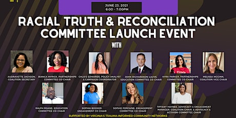 Racial Truth & Reconciliation VA: Committee Launch Event tickets