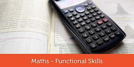 Functional Skills L2 Maths Held Basingstoke College tickets