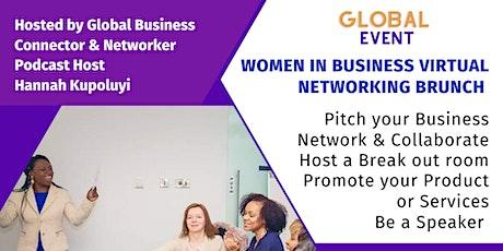 Women In Business Virtual Networking Brunch tickets