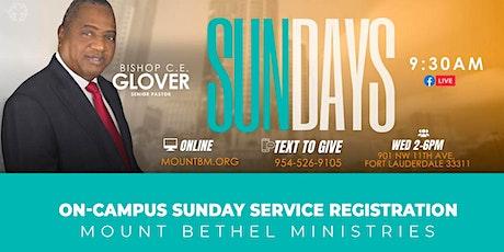 7/25/2021 - Sunday Worship Service tickets