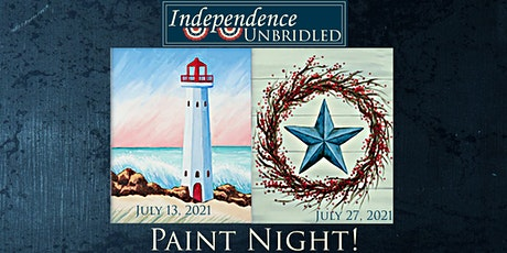 Independence Unbridled Paint Night! tickets