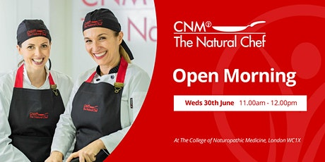 Natural Chef Open Morning - Wednesday 30th June 2021 tickets