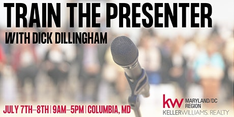 Train the Presenter with Dick Dillingham tickets