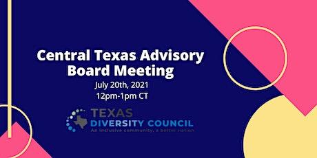 Central Texas Advisory Board Meeting tickets