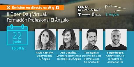 II Open Day Virtual: Formación Profesional El Ángulo boletos
