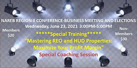 NAREB REGION II CONFERENCE-BUSINESS MEETING AND ELECTIONS tickets