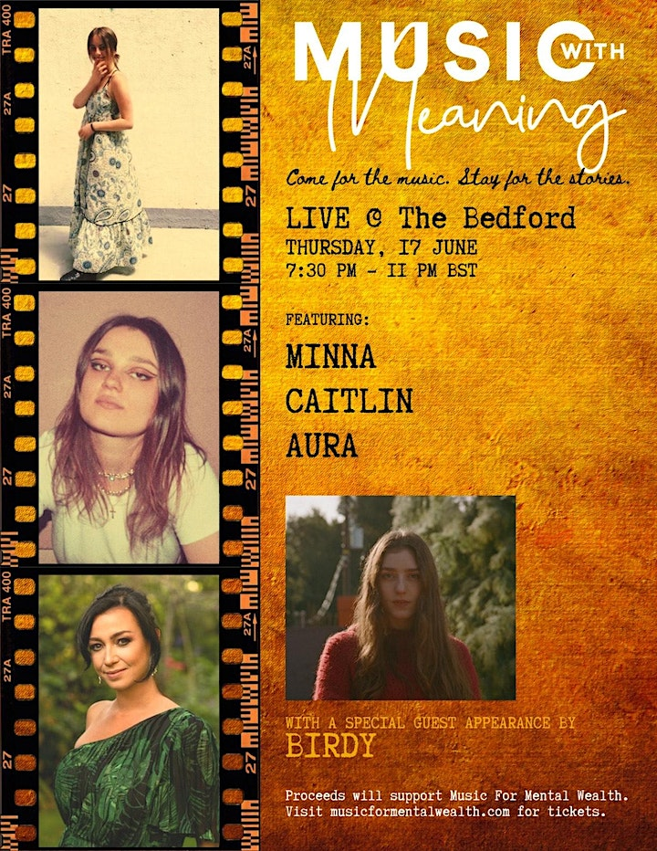 MUSIC WITH MEANING - LIVE @ THE BEDFORD image