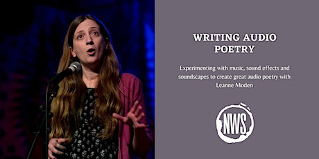 Writing Audio Poetry tickets