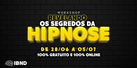 Workshop Revelando os Segredos da Hipnose ingressos