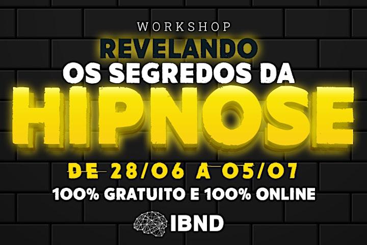 Imagem do evento Workshop Revelando os Segredos da Hipnose