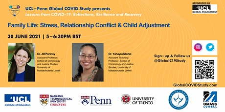 Family: Stress, Relationship Conflict & Child Adjustment (Webinar 3 of 5) tickets