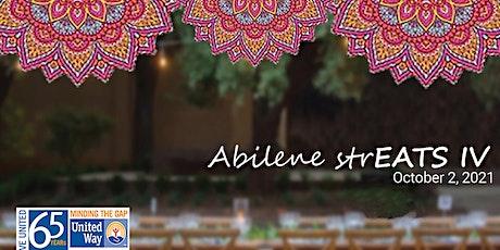 Abilene StrEATs IV tickets