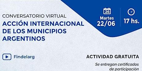 ACCIÓN INTERNACIONAL DE LOS MUNICIPIOS ARGENTINOS entradas