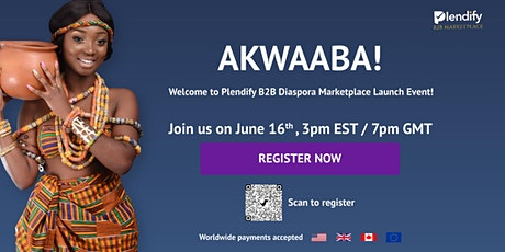 Plendify Diaspora B2B Marketplace Launch tickets