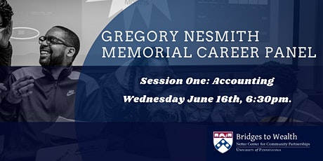 Gregory Nesmith Memorial Career Panel: Accounting tickets