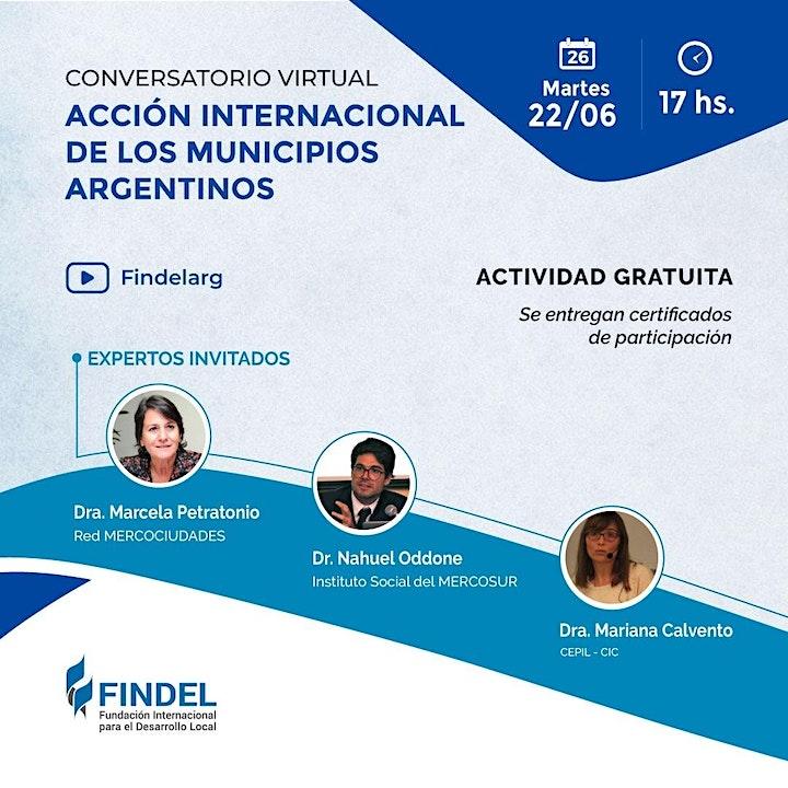 Imagen de ACCIÓN INTERNACIONAL DE LOS MUNICIPIOS ARGENTINOS