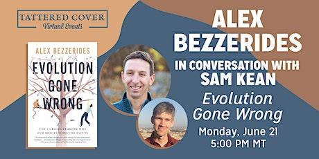 Live Stream with Alex Bezzerides in conversation with Sam Kean tickets