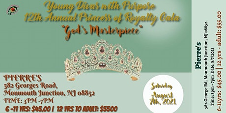 Young Divas with Purpose 12th Annual Princess of Royalty Gala tickets