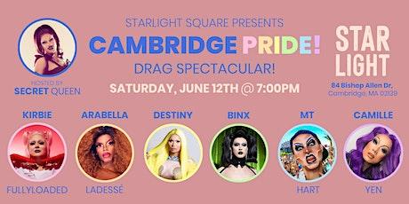 Cambridge PRIDE: Drag Spectacular! tickets