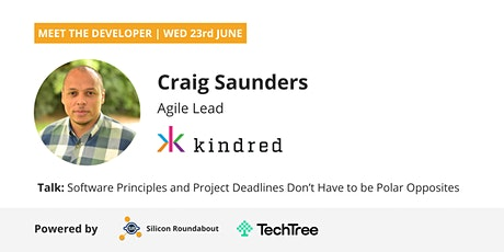 Code Quality VS Deadlines: Craig Saunders, Agile Lead at Kindred Group tickets