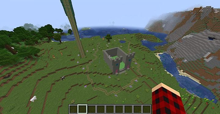 Minecraft Freizeitpark: Bild