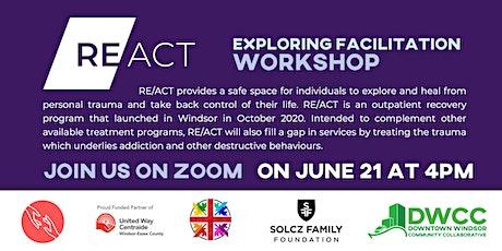 RE/ACT - Exploring Facilitation Workshop tickets