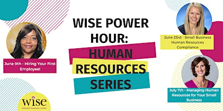 WISE Power Hour - Small Business Human Resources Compliance tickets
